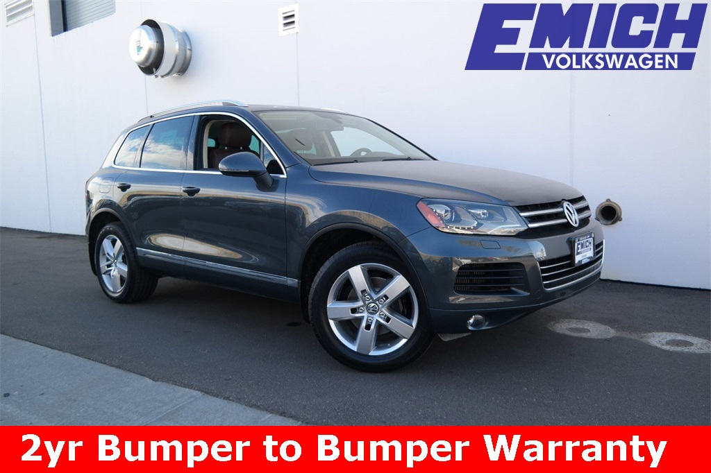 Certified Pre-Owned 2012 Volkswagen Touareg TDI Lux