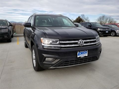 New 2019 Volkswagen Atlas V6 SE with 4MOTION®