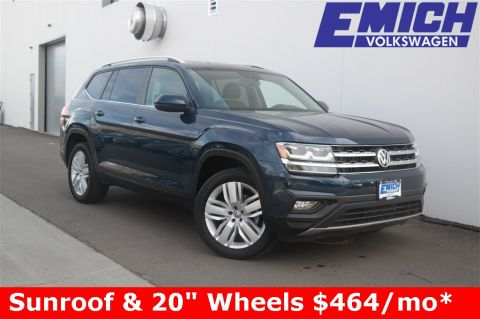 Pre-Owned 2019 Volkswagen Atlas SE w/ Technology