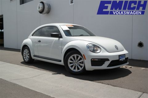 Certified Pre-Owned 2017 Volkswagen Beetle 1.8T S