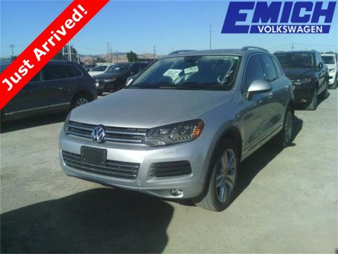Certified Pre-Owned 2012 Volkswagen Touareg TDI Executive