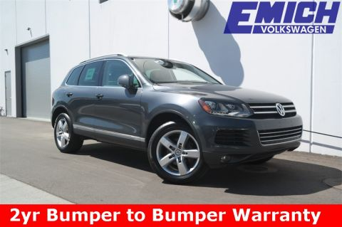 Certified Pre-Owned 2011 Volkswagen Touareg TDI Lux