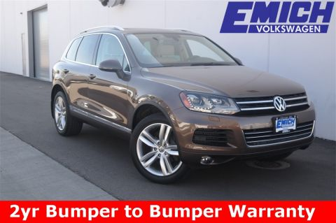 Certified Pre-Owned 2011 Volkswagen Touareg TDI Executive