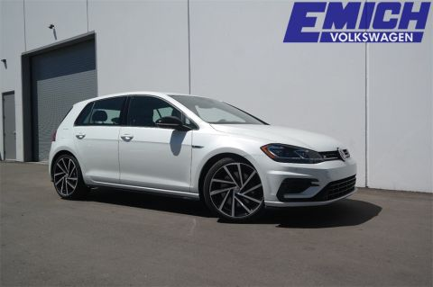 New 2019 Volkswagen Golf R DCC & Navigation 4Motion AWD